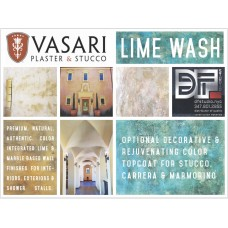 VASARI WET MIX LIME WASH (5 Gallon)